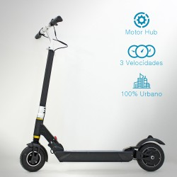 Patinete eléctrico 350W Brushless Hub
