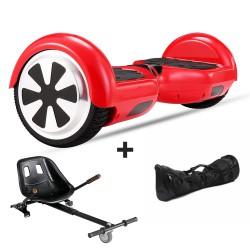 Hoverboard i6 rojo + Hoverkart