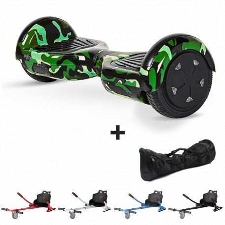 Hoverboard i6 army + Hoverkart