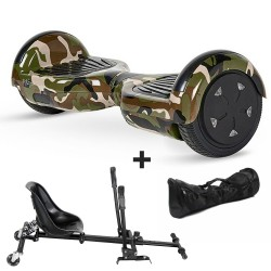 Hoverboard i6 Camuflaje Bluetooth + Hoverkart (Reacondicionado)