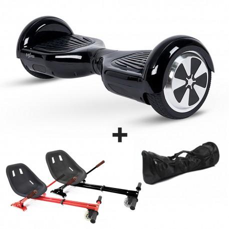 Hoverboard i6 negro + Hoverkart