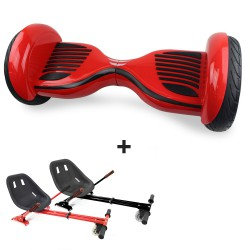 Hoverboard i10 Red Bluetooth + Hoverkart