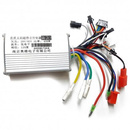 Controlador de motor 29V/40V 450W para patinete eléctrico