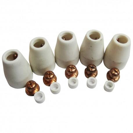 Boquillas cerámica de cortador de plasma Cut 60(5 unds.)