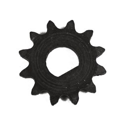 Piñon de 12 dientes 26mm para pit bike y patinete Razor
