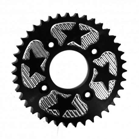 Plato cadena aluminio 39 dientes 160mm Pit Bike