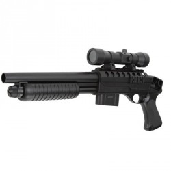 Fusil manual con visor para airsoft