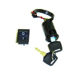 Clausor con conector para quad eléctrico