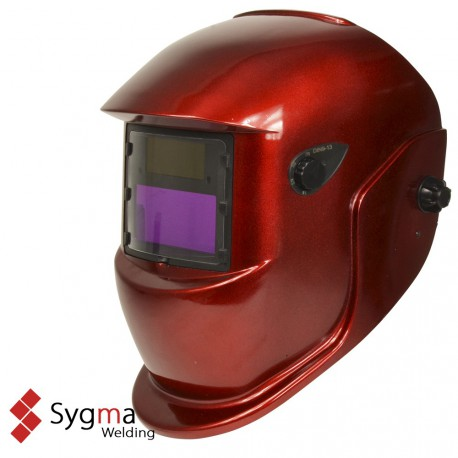 Máscara de soldar Sygma Advanced Red