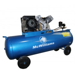 Compresor de aire 3CV 150L Mc Williams