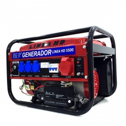 Generador Trifásico a Gasollina 3000W c/ arranque eléctrico