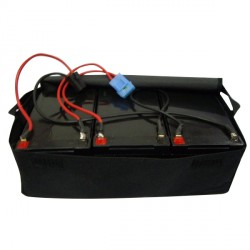 Juego de 3 baterias 12V 12AH con Bolsa para patinete de 36V