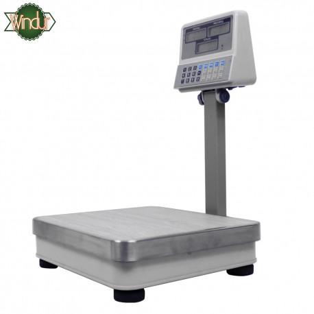 Balanza Digital Windur con torre LCD M9