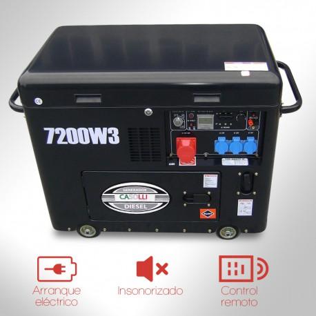 Generador Diesel Trifásico insonoro