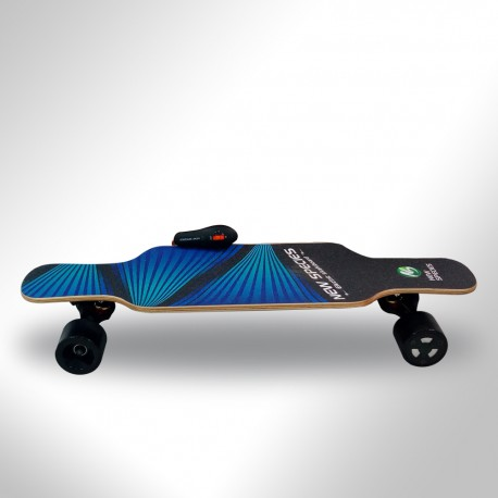 Long skateboard eléctrico