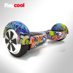 Hoverboard Monociclo eléctrico Raycool i6 700W Graffity