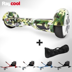 RESERVAR Hoverboard Raycool i6 Army + Hoverkart