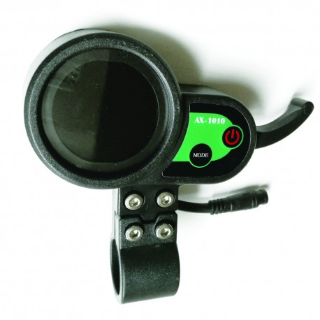Puño de gas con marcador digital para patinete de 36v