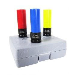 "Kit de 3 Vasos de Impacto VIK600 1/2"""