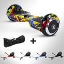 Hoverboard i6 Graffiti Yellow Bluetooth + Hoverkart
