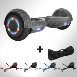 Hoverboard i6 Carbon Bluetooth + Hoverkart
