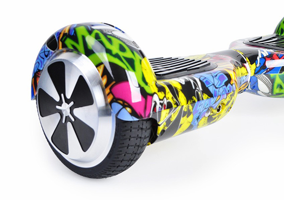 Hoverboard i6 Colours Graffity Yellow